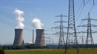 Kernkraftwerk in Betrieb
