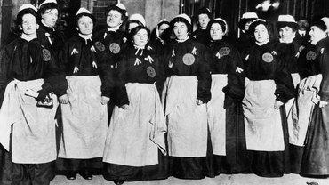 Frauen Wahlrecht Suffragette